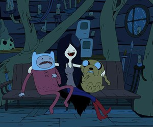 adventure time, finn, and JAKe image