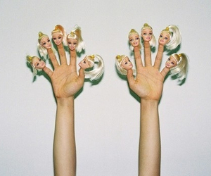 barbie, grunge, and fingers image