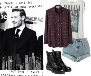 outfit, liam payne, and one direction image