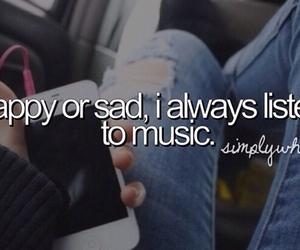 quotes, music always, and simply who i am image