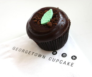 food, cupcake, and chocolate image