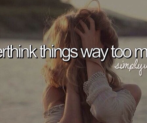 quotes, overthinking, and simply who i am image