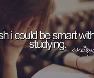 quotes, smart, and hate studying image
