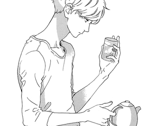 manga, hirunaka no ryuusei, and anime image