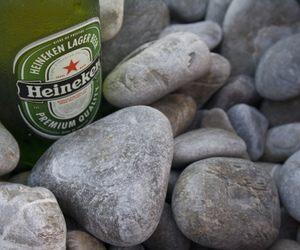 beach, beer, and drink image