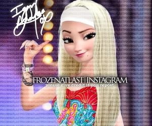 frozen, Iggy, and elsa image