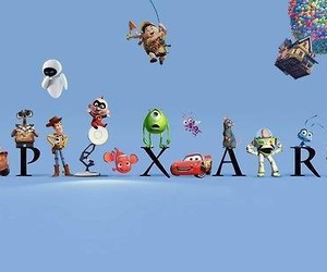 pixar, disney, and up image