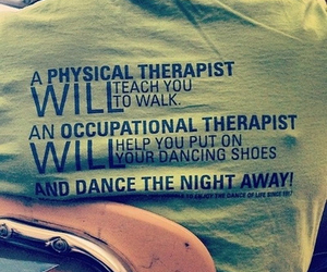 physical therapy, occupational therapy, and occupational therapist image
