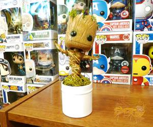 toy, groot, and guardians of the galaxy image