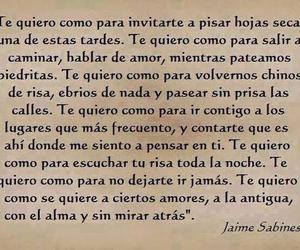 te quiero, jaime sabines, and toda la noche image