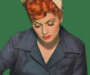 vintage and Lucille Ball image