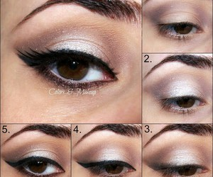 makeup, tutorial, and make-up image