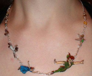 necklace, peter pan, and disney image