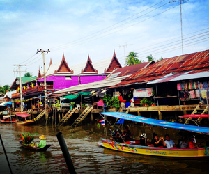 thailand and floating image