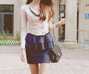 blue, kawaii, and outfit image