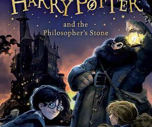 harry potter, book, and ron image