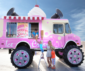 icecream, car, and pink image