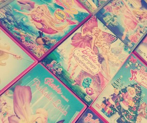 barbie, movies, and pink shoes image