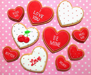 be mine, red, and love you image