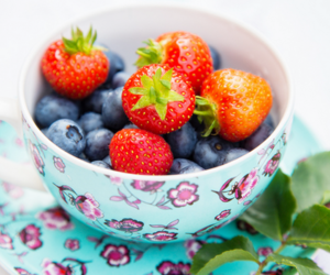berries and strawberry image