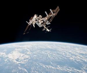 earth and space image