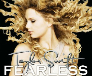 Taylor Swift, fearless, and album image