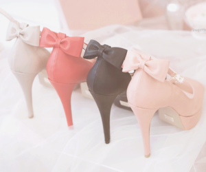 shoes, pink, and red image