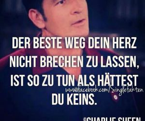 charlie sheen, heart, and sprüche image