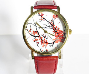 red, watch, and freeforme image