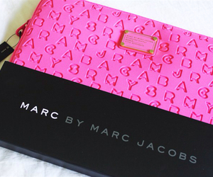 pink, marc, and marc jacobs image