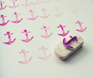 anchor, craft, and eraser image