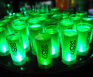 drink, green, and Shots image