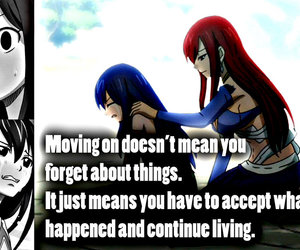 fairy tail, anime, and quote image