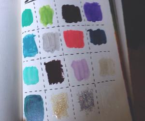 colours, nail, and polish image