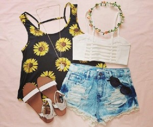fashions, jeans, and outfits image