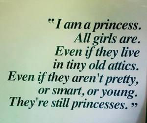 princess, girl, and quote image