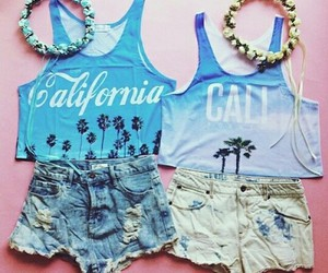 california, fashion, and outfit image