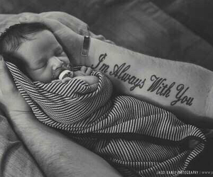 tattoo, baby, and cute image