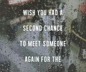 second chance and love image