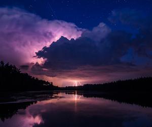 sky, nature, and night image