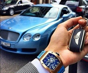 car and watch image