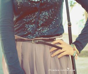 fashion, hijab, and maxi skirt image