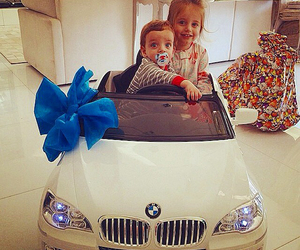baby, car, and kids image