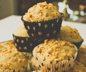 food, delicious, and muffin image