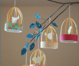 diy, bird, and cage image