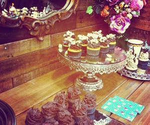 chic, cupcake, and sweet image