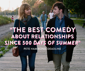 love, comedy, and daniel radcliffe image