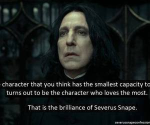 harry potter, severus snape, and love image