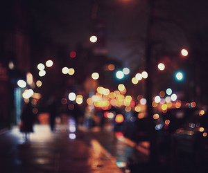 lights, road, and street image