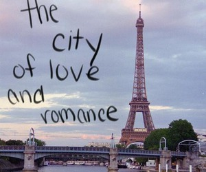 paris, love, and romance image